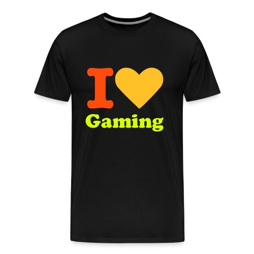I Love Gaming Mens Special X-Shirt - Men's Premium T-Shirt