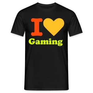 I Love Gaming Mens X-Shirt - Men's T-Shirt