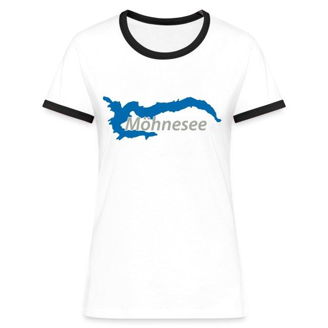 Frauen Retro T-Shirt V