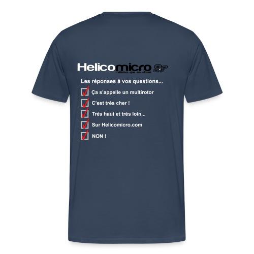 Drone pilote - T-shirt Premium Homme