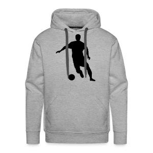 Sweater Soccer - Mannen Premium hoodie