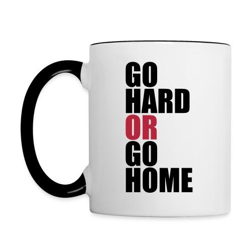 Go Hard Mug - Contrasting Mug