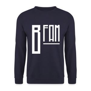 B-Fam Sweatshirt w/ BB Quote (Navy) - Men's Sweatshirt
