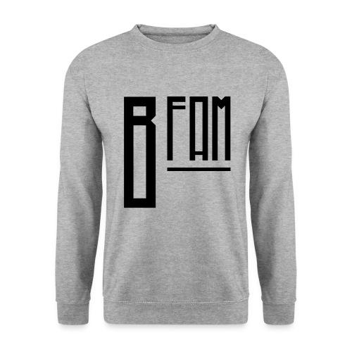 B-Fam Sweatshirt w/ BB Quote (White) - Men's Sweatshirt