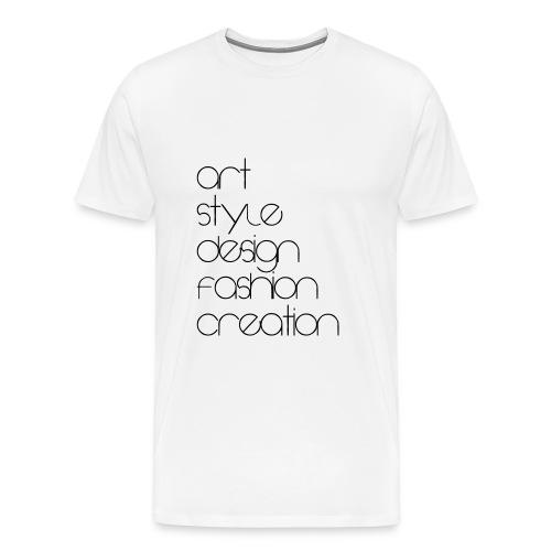 FASHION T-SHIRT STYLE - Men's Premium T-Shirt