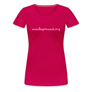 Women's web-logo fitted shirt - Women's Premium T-Shirt