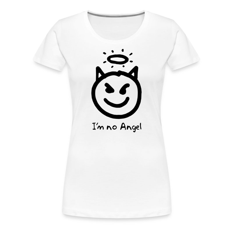 Women's Little Devil face shirt - Women's Premium T-Shirt