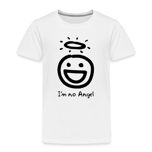 Kid's No Angel face shirt - Kids' Premium T-Shirt