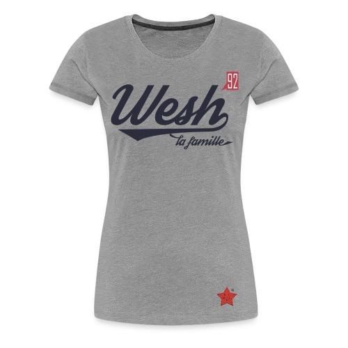 Wesh la famille - Women's Premium T-Shirt