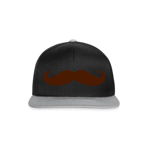 De Bruine Snor - Snapback cap