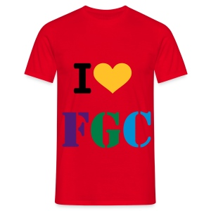 I Love FGC T-Shirt - Men's T-Shirt