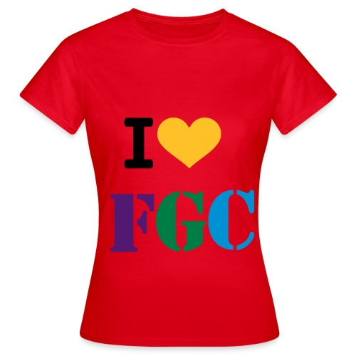 I love FGC T-Shirt - Women's T-Shirt