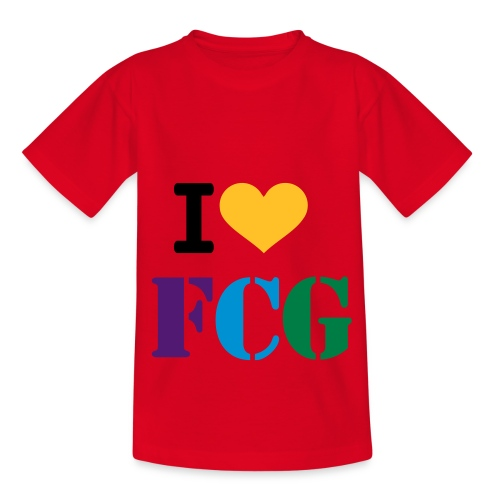 I love FGC T-Shirt - Kids' T-Shirt