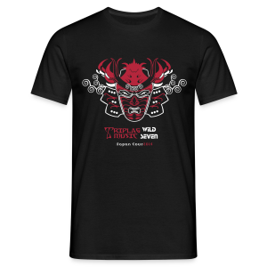 Triplag wild seven japan tour 2014 - Men's T-Shirt