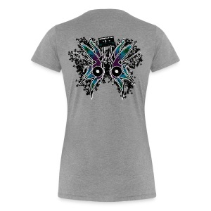 Wings on Back (I was once...)  - Women's Premium T-Shirt