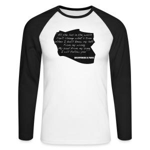 Lyric Long Sleeved (Men's) - Men's Long Sleeve Baseball T-Shirt