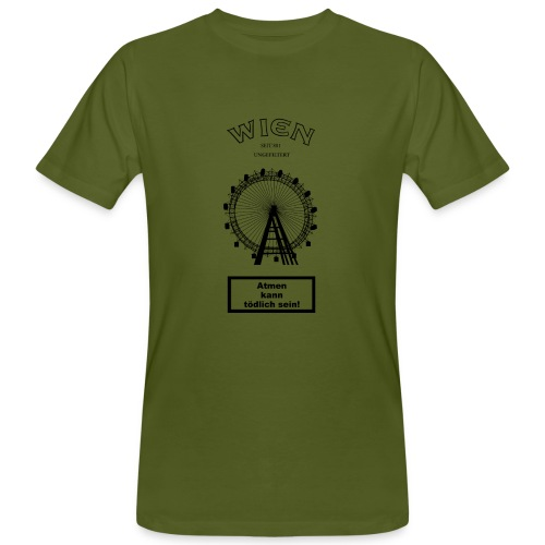 WIEN UNGEFILTERT - Männer Bio-T-Shirt