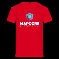T-Shirts ~ Men's T-Shirt ~ Red T-Shirt (Regular Edition)