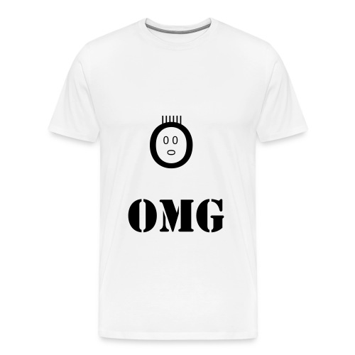 smiley omg - T-shirt Premium Homme
