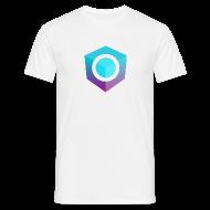 T-Shirts ~ Men's T-Shirt ~ White Logo-Only T-Shirt (Regular Edition)