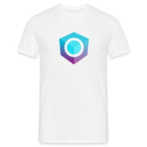 White Logo-Only T-Shirt (Donation Edition) - Men's T-Shirt
