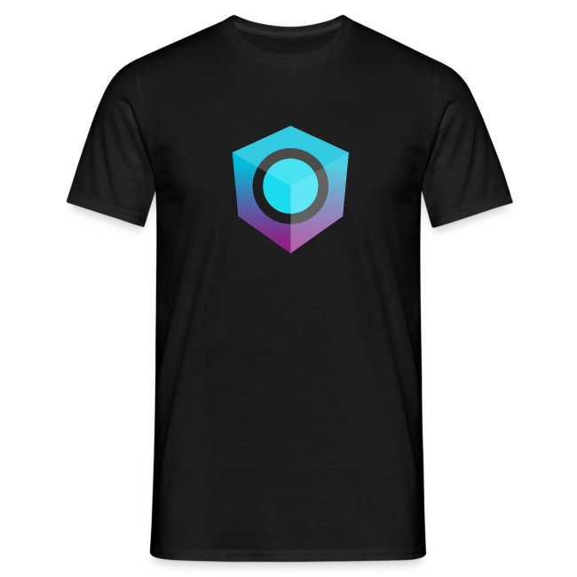 Black Logo-Only T-Shirt (Donation Edition)
