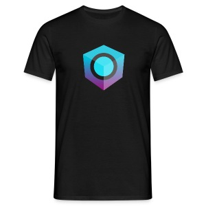 Black Logo-Only T-Shirt (Regular Edition) - Men's T-Shirt