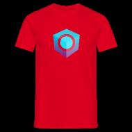 T-Shirts ~ Men's T-Shirt ~ Red Logo-Only T-Shirt (Regular Edition)