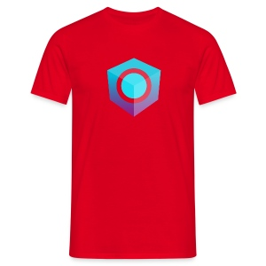 Red Logo-Only T-Shirt (Regular Edition) - Men's T-Shirt