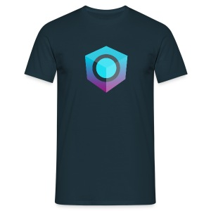 Blue Logo-Only T-Shirt (Donation Edition) - Men's T-Shirt