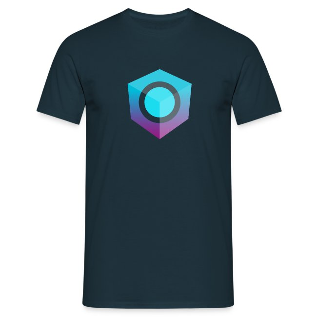 Blue Logo-Only T-Shirt (Donation Edition)