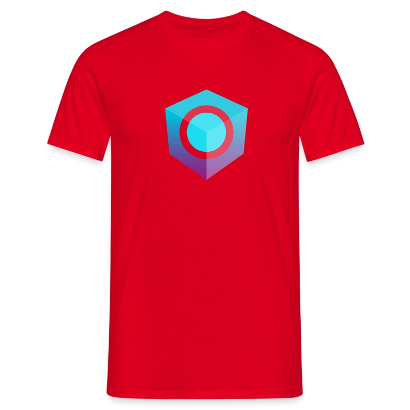 Red Logo-Only T-Shirt (Donation Edition) - Men's T-Shirt