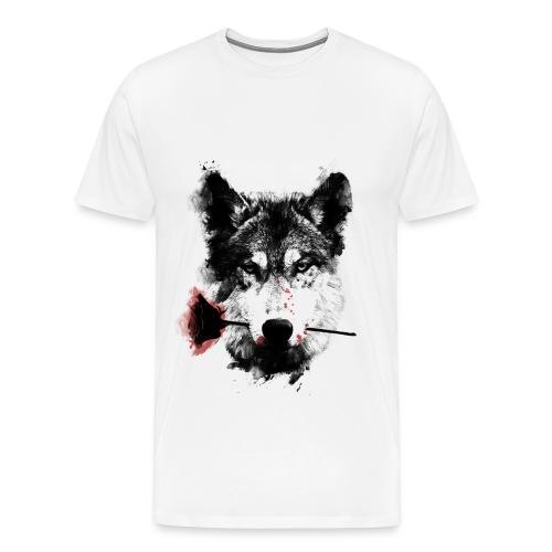 wolf lover - Camiseta premium hombre