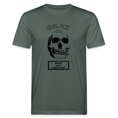 GRAZ UNGEFILTERT - Männer Bio-T-Shirt