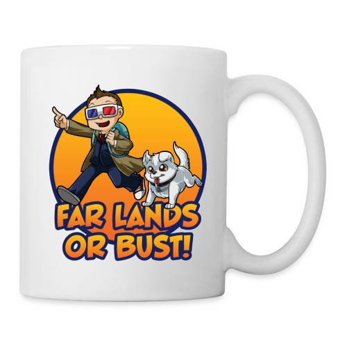 Far Lands or Bust! Logo Coffee Mug - Mug
