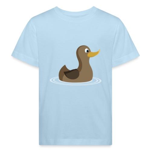 Alle meine Entchen - Kinder T-Shirt kurzarm - Kinder Bio-T-Shirt