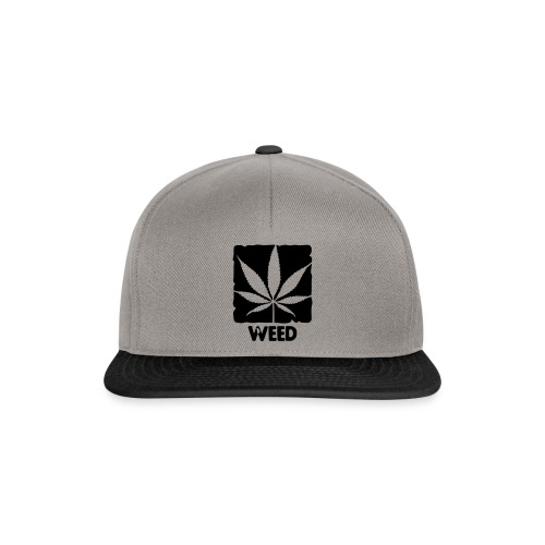 Cap Weed - Casquette snapback