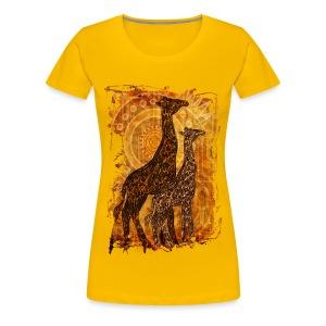 Giraffe Tee - Women's Premium T-Shirt