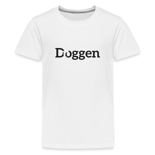 Meine D...ogge Glitzerschwarz - Teenager Premium T-Shirt