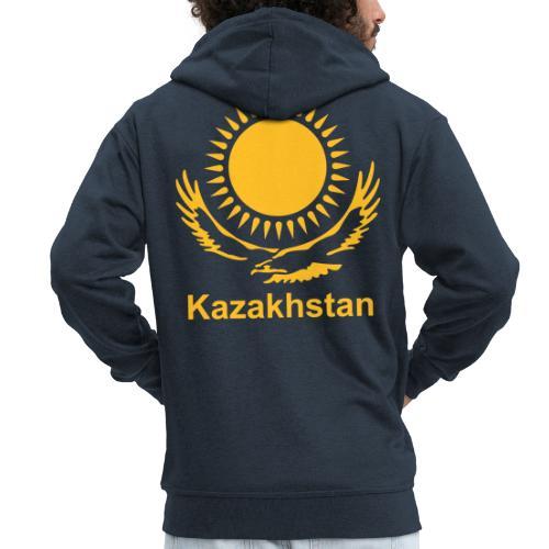 Казахстан - Männer Premium Kapuzenjacke