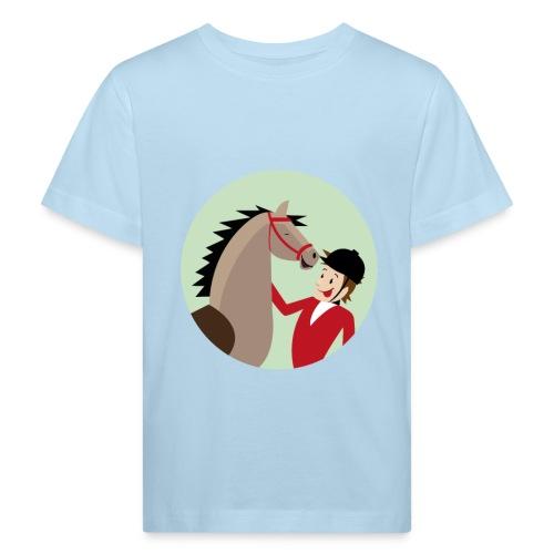 Hoppe, hoppe Reiter - Kinder Bio-T-Shirt - Kinder Bio-T-Shirt