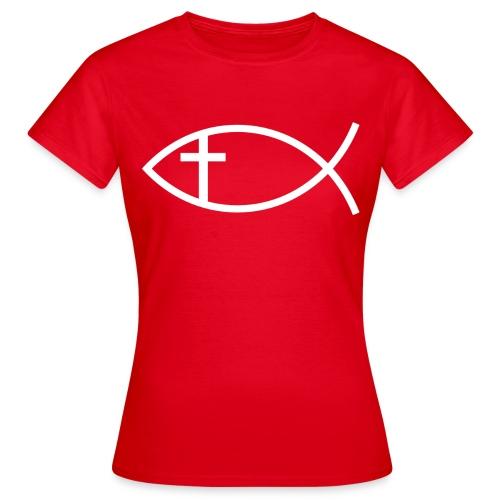 Maglia con simboli cristiani 3 - Maglietta da donna