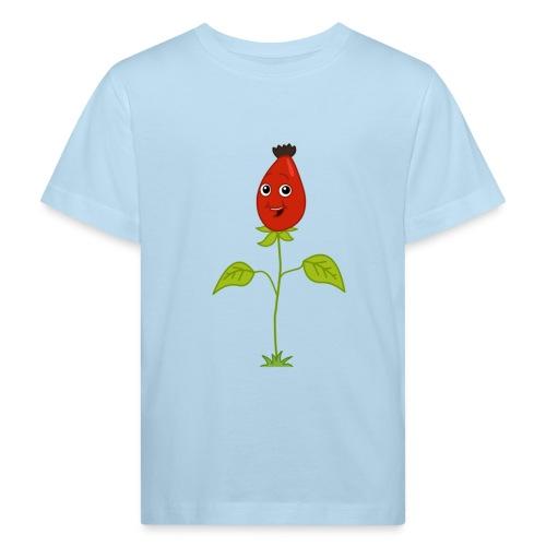 Ein Männlein steht im Walde - Kinder Bio T-Shirt kurzarm - Kinder Bio-T-Shirt