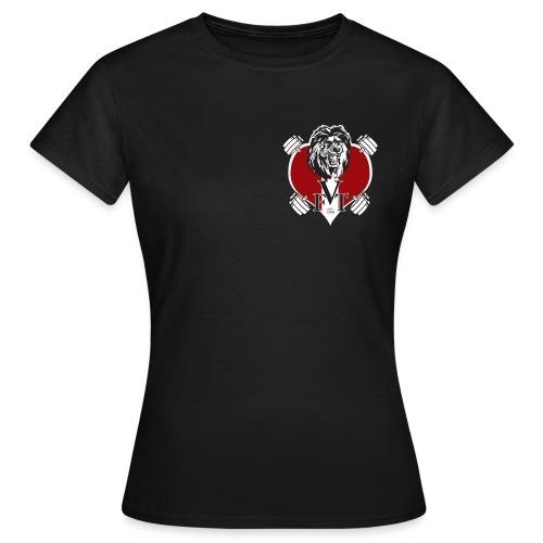 Hantel-T Frauen - Frauen T-Shirt
