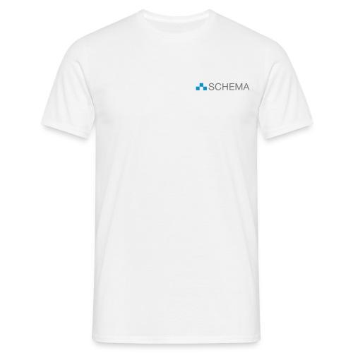 SCHEMA T-Shirt Männer weiß - Männer T-Shirt