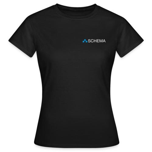SCHEMA T-Shirt Frauen schwarz - Frauen T-Shirt