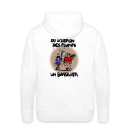 Sweat-shirts ~ Sweat-shirt à capuche Premium pour hommes ~ SWEAT à capuche homme banquier