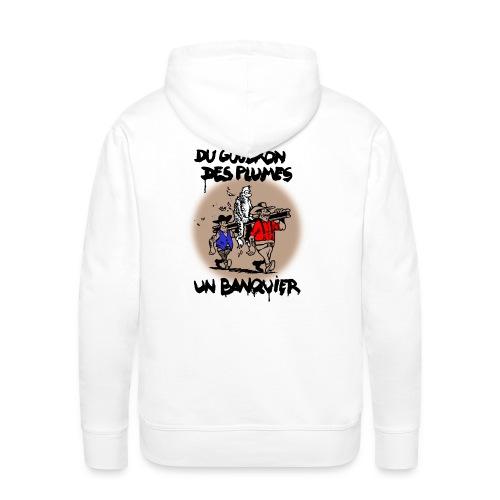 SWEAT à capuche homme banquier - Sweat-shirt à capuche Premium pour hommes