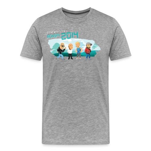 Generation Bonsai 2014 grey - Men's Premium T-Shirt