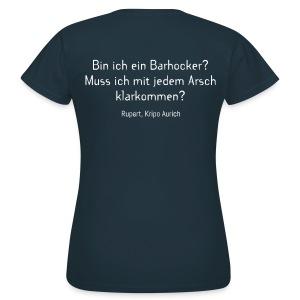 Barhocker-Shirt (Damen) - Frauen T-Shirt